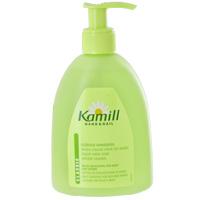 Мыло жидкое для рук Kamill Classic, 300 млMP59.3DМыло жидкое для рук Kamill Classic с регулирующей баланс кожи формулой. Благодаря концентрированной силе ромашки снимает раздражение и нежно ухаживает за кожей. Ромашка обеспечивает дополнительную защиту и способствует регенерации клеток уставшей кожи рук. Мягкое мыло для рук очищает и предлагает натуральный уход. Характеристики: Объем: 300 мл. Производитель: Германия. Артикул: 13590.Kamill - линия косметических средств на основе экстракта ромашки, которая производится немецкой компанией Burnus GmbH. Она включает в себя большой выбор кремов и лосьонов для рук и ногтей, средства по уходу за лицом и телом, а также гели для душа и пены для ванны. Центральный компонент марки - ромашка - оказывает на кожу успокаивающее и противовоспалительное действие. В течение столетий кремы для рук, мази и настои, изготовленные из цветков ромашки, помогали снимать раздражение и смягчать кожу. Чудесное растение брало свою силу у всех четырех стихий: земли, воды, воздуха и солнца. Теперь ромашка, заботливо выращиваемая в тщательно контролируемых, экологически безупречных условиях, дарит вам свои целебные свойства в кремах и лосьонах для рук Kamill. Линия средств Kamill по уходу за лицом и телом - качественная косметика для женщин, которая понравится даже самой требовательной коже.Товар сертифицирован.