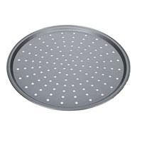 Форма для пиццы Tescoma Delicia, круглая, с антипригарным покрытием, диаметр 32 смFS-80418Круглая форма для выпечки Tescoma Delicia выполнена из высококачественной стали и снабжена антипригарным покрытием, что обеспечивает форме прочность и долговечность. Форма с перфорированным дном идеально подойдет для приготовления пиццы. Равномерное распределение тепла способствует образованию корочки на выпекаемых изделиях. Данную форму легко чистить. Готовая выпечка без труда извлекается из нее. Изделие устойчиво к воздействию фруктовых кислот. Форма подходит для использования в духовке с максимальной температурой 250°С. Перед каждым использованием форму необходимо смазать небольшим количеством масла. Чтобы избежать повреждений антипригарного покрытия, не используйте металлические или острые кухонные принадлежности. Можно мыть в посудомоечной машине.