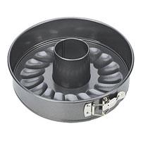 Набор форм для выпечки Tescoma, диаметр 28 см. 62329054 009305Набор форм для выпечки Tescoma будет отличным выбором для всех любителей тортов и кексов. Особое высокотехнологичное антипригарное покрытие препятствует пригоранию и обеспечивает легкую очистку после использования. Форма легко разбирается и собирается при помощи специального зажима. Из этого набора вы можете собрать форму как для приготовления торта, так и для приготовления кекса. С такой формой Вы всегда сможете порадовать своих близких оригинальной выпечкой.Характеристики: Материал: металл с антипригарным покрытием. Диаметр: 28 см. Высота стенок: 6,5 см. Производитель: Чехия. Артикул:623290.