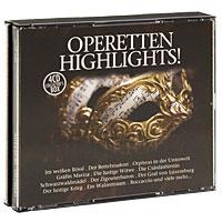 Фритц Вундерлих,Фридерик Сайлер,Карл Михальский,Сильвия Гезти,Курт Боме Operetten-Highlights! (4 CD)