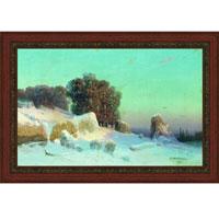 Арт-постер в багете Зимний пейзаж (А. И. Мещерский), 27 x 40 смБрелок для сумкиХудожественная репродукция картины А.И.Мещерского Зимний пейзаж. Изображение нанесено на чрезвычайно плотную основу (это не бумага и не картон) и обрамлено в багет. Технология изготовления арт-постеров подразумевает обязательную художественную ламинацию каждого изображения, чтопридает картине дополнительную ценность, а также защищает поверхность от загрязнения, повреждений (в том числе попыток помять, исцарапать изображение), влаги и ультрафиолетовых лучей. Так, например, наши арт-постеры совершенно спокойно перенесут не одну зиму в дачном или загородном доме.Ламинирование может значительно улучшить качество изображения. Использование пленок дает различную фактуру лицевой поверхности изображения (глянцевую, матовую, холщевую, ситцевую, льняную и другие). Например, при использовании глянцевых пленок изображение проявляется - краски становятся более контрастными исочными. Технология художественного ламинирования максимально приближает изображение к натуральной картине (холст, масло), акварели.Отличить арт-постер, изготовленный по такой технологии, от копии, нарисованной художником можно лишь при детальном пристальном рассмотрении. Рассматривая арт-постер с расстояния свыше 1 метра - вы не заметите никаких отличий. А компьютерная точность воспроизведения, исключающая неточность руки копировальщика, создаст в Вашем доме ощущение присутствия настоящего шедевра, не подвластного времени. Именно поэтому арт-постеры являютсяпризнанным стандартом изготовления копий художественных произведений.При обрамлении изображений, поверхность которых защищена художественной ламинацией, стекло не требуется. А это означает отсутствие раздражающих бликов, возможности случайно разбить стекло, уменьшается вес Арт-постера. Характеристики: Материал: бумага, пластик, ДВП.Размер в багете: 38 см х 50,5 см.Размер постера: 27 см х 40 см.Производитель: Россия.Артикул:OZ214-504011.