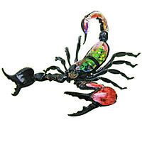Данный набор представляет собой подробную анатомическую модель скорпиона. Такая модель идеально подойдет для создания презентации по структуре строения этих насекомых, а также для изучения их в учебных учреждениях. Для удобства демонстрации модель закреплена на устойчивой подставке. Скорпионы принадлежат к плотоядным членистоногим, относящимся к отряду класса паукообразных. В отличие от насекомых, тело скорпионов состоит только из двух отделов (головогрудь и брюшко), у них нет рта и крыльев, но скорпионы имеют семь ножек, пару сильных клешней, а также длинный хвост с жалом. На верхней стороне головогрудки скорпионы имеют два глаза, а также обычно от двух до пяти пар глаз вдоль переднего края головогруди. Цвет их тела может быть очень разнообразным и варьируется от желтого, коричневого, светло-зеленого, темно-синего и бледно-красного до черного. Скорпионы могут обитать в различных климатических условиях: от тропических лесов до пустынь. Все скорпионы...
