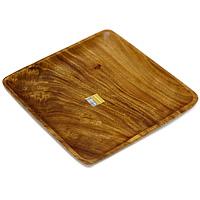 Поднос Monkey Pod 33 cм х 33 см115510Представляем вашему вниманию поднос Monkey Pod, выполненный из дерева. Оригинальный дизайн подноса идеально впишется в интерьер вашей кухни или будет достойным подарком для родных и друзей. Характеристики: Материал:дерево. Размер: 33,5 см х 33,5 см х 3,5 см. Артикул: 1104575. Изготовитель: Великобритания.