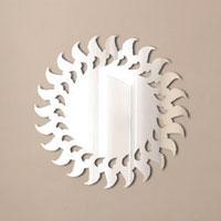 Декоративное зеркало Paristic СолнцеПР01011Добавьте оригинальность вашему интерьеру с помощью необычного фигурного зеркала.Необыкновенный всплеск эмоций в дизайнерском решении создаст утонченную и изысканную атмосферу не только спальни, гостиной или детской комнаты, но и даже офиса.Зеркало выполнено из гибкого органического стекла - более легкого и прочного материала по сравнению с обычным стеклом. Такое зеркало более устойчиво к повреждениям и обеспечивает максимальный визуальный эффект.Сегодня фигурные зеркала пользуются большой популярностью среди декораторов по всему миру, а на российском рынке товаров для декорирования интерьеров - являются новинкой.Замысловатые узоры и самые обычные фигуры - в зеркальном воплощении создают непредсказуемые отражающие эффекты.В коллекции Paristic - авторские работы от урбанистических зарисовок и узнаваемых парижских мотивов до природных и графических объектов. Идеи французских дизайнеров украсят любой интерьер. Paristic - это простой и оригинальный способ создать уникальную атмосферу как в современной гостиной и детской комнате, так и в офисе.В настоящее время производство стикеров Paristic ведется в России при строгом соблюдении качества продукции и по оригинальному французскому дизайну. Характеристики:Материал: гибкое органическое стекло. Размер зеркала:29 см х 29 см. Производитель: Франция.