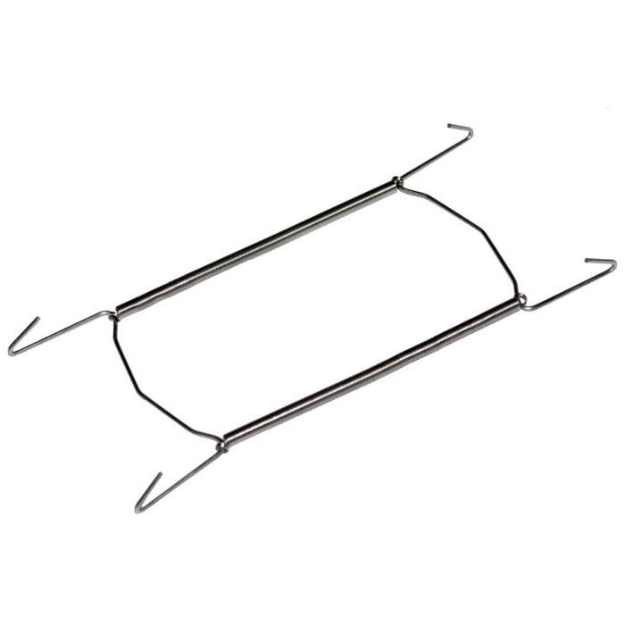 Держатель для тарелок Metaltex большой20.90.02Удобный настенный держатель для декоративных тарелок Metaltex выполнен из латуни. Держатель крепится к стене на петлю. При помощи специальных пружин держатель можно регулировать под необходимый размер тарелки (от 18 см до 26 см). Такой держатель поможет оригинально украсить интерьер вашей кухни.Характеристики:Материал:латунь.Минимальная длина:16 см.Производитель:Италия.Артикул: 20.90.02.