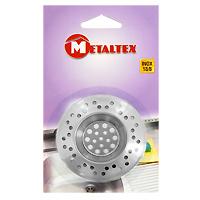 Сито-фильтр для раковины MetaltexSC-FD421005Сито-фильтр Metaltex имеет специальное углубление для раковины и выполнен из нержавеющей стали. Сито-фильтр поможет предотвратить засорение вашей раковины.Характеристики:Материал: нержавеющая сталь. Диаметр: 7 см. Производитель: Италия. Артикул: 29.75.70.