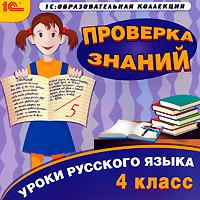 Уроки русского языка. Проверка знаний. 4 класс