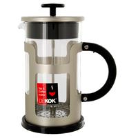 Чайник заварочный Dekok с прессом, 1л115510Заварочный чайник Dekok с прессом - это совершенный чайник для ежедневного использования. Чайник с плотной крышкой и удобнойручкой имеет специальный фильтр для отделения чайных листьев от воды, а также пресс. После заваривания чая фильтр не надо вынимать. Заваривание чая в чайнике Dekok - это приятное и легкое занятие. Заварочный чайник займет достойное место на вашей кухне. Современный дизайн полностью соответствует последним модным тенденциям в создании предметов бытовой техники.Характеристики:Материал:пластик, стекло, нержавеющая сталь. Объем: 1 л. Высота чайника (с крышкой): 18,5 см. Размеры упаковки: 16 см х 23 см х 12,5 см. Изготовитель: Австрия. Артикул: CP-1019.