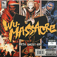 Раеквон,Метод Мэн,Ghostface Killah Meth, Ghost, Rae. Wu Massacre цена 2017
