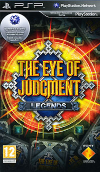 The Eye of Judgment: Legends (PSP) куплю игры на psp в павлодаре