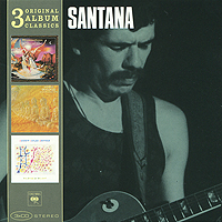 Карлос Сантана,Элис Колтрейн Santana. Original Album Classics (3 CD) cd диск simon paul original album classics paul simon songs from capeman hearts and bones you re the one there goes rhymin simon 5 cd