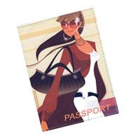 Обложка для паспорта Perfecto Гламур 1. PS-GL-0001F5WL01_темно-синий, красный, желтыйОбложка для паспорта Гламур 1, выполненная из натуральной кожи, оформлена авторским рисунком. Такая обложка не только поможет сохранить внешний вид ваших документов и защитит их от повреждений, но и станет стильным аксессуаром, идеально подходящим вашему образу. Яркая и оригинальная обложка подчеркнет вашу индивидуальность и изысканный вкус.Обложка для паспорта стильного дизайна может быть достойным и оригинальным подарком. Характеристики: Материал: натуральная кожа. Размер: 9,5 см х 13,5 см. Артикул:PS-GL-0001.Производитель: Россия.