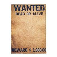 Обложка для паспорта Perfecto Живым или мертвым. PS-PR-000848Обложка для паспорта Живым или мертвым, выполненная из натуральной кожи, оформлена надписью: Wanted. Dead or Alive. Такая обложка не только поможет сохранить внешний вид ваших документов и защитит их от повреждений, но и станет стильным аксессуаром, идеально подходящим вашему образу. Яркая и оригинальная обложка подчеркнет вашу индивидуальность и изысканный вкус.Обложка для паспорта стильного дизайна может быть достойным и оригинальным подарком. Характеристики: Материал: натуральная кожа. Размер: 9,5 см х 13,5 см. Артикул:PS-PR-0008.Производитель: Россия.