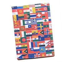 Обложка для паспорта Perfecto Overseas. PS-OS-0002F9WL01Обложка для паспорта Overseas, выполненная из натуральной кожи, оформлена рисунком с изображением флагов разных стран. Такая обложка не только поможет сохранить внешний вид ваших документов и защитит их от повреждений, но и станет стильным аксессуаром, идеально подходящим вашему образу. Яркая и оригинальная обложка подчеркнет вашу индивидуальность и изысканный вкус.Обложка для паспорта стильного дизайна может быть достойным и оригинальным подарком. Характеристики: Материал: натуральная кожа. Размер: 9,5 см х 13,5 см. Артикул:PS-OS-0002.Производитель: Россия.