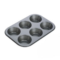 Форма для выпечки Tescoma на 6 пышек. 62322068/5/2Форма для выпечки Tescoma будет отличным выбором для всех любителей домашней выпечки. Форма идеально подойдет для приготовления пышек, мини-кексов, тарталеток и т.д. Особое высокотехнологичное антипригарное покрытие препятствует пригоранию и обеспечивает легкую очистку после использования. Форма имеет специальную петлю, за которую изделие легко подвесить в удобном месте. С такой формой Вы всегда сможете порадовать своих близких оригинальной выпечкой.Характеристики: Материал:металл с антипригарным покрытием. Диаметр формочки для пышки: 7 см. Высота формочки для пышки:2 см. Производитель: Чехия. Артикул:623220.