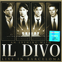 Il Divo Il Divo. An Evening With Il Divo. Live In Barcelona (CD + DVD) водолазка byblos водолазка
