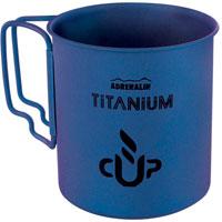 Кружка походная Adrenalin Titanium, цвет: голубой, 450 мл67742Походная кружка Adrenalin Titanium, изготовленная из титана, одна из самых легких кружек из уже существующих. Благодаря своему легкому весу и складным негреющимся ручкам кружка идеально подойдет для походов и туристических путешествий.Adrenalin - целый мир товаров, которые делают вашу жизнь комфортнее и интереснее. Даже если вы находитесь вне зоны привычных удобств: за городом, на даче, в походе, на рыбалке, на работе и в командировке.Диаметр кружки: 8 см.Высота кружки: 8,5 см.
