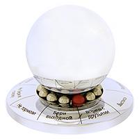 Шар для принятия решения Jumbo, цвет: серебряныйPARIS 75015-8C ANTIQUEШар для принятия решения - это отличный и оригинальный подарок любому человеку, ведь каждый постоянно сталкивается с вопросом Что делать? и Как быть?. Этот шар всегда знает, что надо делать! Задайте вопрос, и шар для принятия решений сразу поможет вам с ответом! Просто крутите шар, и смело читайте, что для вас приготовил личный советник. Кроме того, этот симпатичный аксессуар отлично дополнит офисный стол, и послужит отличным подарком для друзей и коллег. Варианты ответов: - Бери выходной - Встреча с друзьями - Выспись- Подожди- Не тормози - Не бери в голову - Иди в баню - Возьми в долг - Не крути меня больше. Характеристики: Материал: металл, текстиль. Диаметр основания: 8 см. Высота: 5,5 см. Размер коробки: 8 см х 9 см х 8 см. Производитель: Китай. Артикул: CS365.