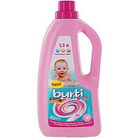 Жидкое средство для стирки детского белья Burti Baby, 1,5 лGC013/00Жидкое средство Burti Baby высоко эффективно для бережной стирки детского белья. Благодаря особой благоприятной для кожи рецептуре, отсутствию красителей и низкому содержанию ароматизаторов, Burti Baby обеспечивает гигиенический уход за бельем и не раздражает чувствительную кожу малыша. Отстирывает даже при низких температурах, делая детское белье более комфортным. Средство одобрено дерматологами. Товар сертифицирован.