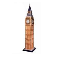 """""""Биг Бен"""" - уникальный конструктор-макет, с которым можно играть как дома, так и на улице. Составные элементы конструктора красочны и достаточно большие для того, чтобы даже маленькому ребенку было удобно и комфортно в него играть. Достаточно просто соединить элементы конструктора, и Вы получите объемную модель здания Биг Бена. Биг-Бен - колокольная башня в Лондоне, часть архитектурного комплекса Вестминстерского дворца. Официальное наименование - """"Часовая башня Вестминстерского дворца"""", также ее называют """"Башней Св. Стефана"""". Собственно """"Биг-Бен"""" - само здание и часы вместе с колоколом. Название башни возникло от названия 13-тонного колокола, установленного внутри нее. Башня была возведена в 1858 году, башенные часы были пущены в ход 21 мая 1859 года. Высота башни 61 метр (не считая шпиля); часы располагаются на высоте 55 м от земли. При диаметре циферблата в 7 метров и длиной стрелок в 2,7 и 4,2 метра, часы долгое время считались самыми большими в мире. Биг-Бен стал..."""