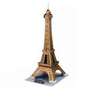 """""""Эйфелева башня"""" - уникальный конструктор-головоломка, с которым можно играть как дома, так и на улице. Составные элементы конструктора красочны и достаточно большие для того, чтобы даже маленькому ребенку было удобно и комфортно в него играть. Достаточно просто соединить элементы конструктора, и вы получите объемную модель Эйфелевой башни. Эйфелева башня была построена в 1889. Это самая узнаваемая архитектурная достопримечательность Парижа, всемирно известная как символ Франции, названная в честь своего конструктора Густава Эйфеля и являющаяся местом паломничества туристов. Сам конструктор называл ее просто - 300-метровой башней. В 2006 году на башне побывало 6 719 200 человек, а за всю ее историю - 236 445 812 человек. То есть башня является самой посещаемой достопримечательностью мира. Этот символ Парижа задумывался как временное сооружение - башня служила входной аркой парижской Всемирной выставки 1889 года. Создайте свою Вселенную с помощью объемного конструктора..."""