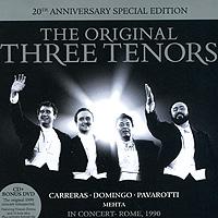 Хосе Каррерас,Плачидо Доминго,Лучано Паваротти The Original Three Tenors (CD + DVD)