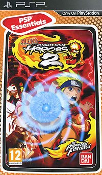Naruto: Ultimate Ninja Heroes 2 - The Phantom Fortress (PSP)