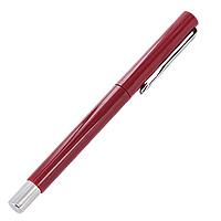 Ручка роллер Parker Vector Standart, цвет: темно-красныйS0160310Ручка - это не просто пишущий инструмент, это - часть имиджа, наглядно демонстрирующая статус, характер и образ жизни ее владельца. Ручка роллер Parker Vector Standart - это гарант Вашего неповторимого стиля и элегантности. Корпус ручки выполнен из пластика темно-красного цвета с отделкой из нержавеющей стали и хрома. Ручка поставляется в фирменном пластиковом футляре. Стержень находиться внутри коробки под подкладкой.Марка Parker гарантирует полную уверенность в превосходном качестве товара. РучкаParker будет не только долго служить, но и неизменно радовать удобством и легкостью письма, надежностью в эксплуатации и прекрасным эстетическим исполнением. Удивительное разнообразие моделей, а также великолепие и надежность отделки поверхностей позволяют удовлетворить даже самые взыскательные вкусы, обеспечивая при этом безукоризненность исполнения самых разных задач в процессе письма и соответствие различным стилям письма. Характеристики:Общая длина ручки:13,2 см.Длина ручки без учета колпачка:11,7 см.Линия письма:средняя.Цвет чернил:синий.Цвет корпуса ручки:темно-красный.Материал корпуса:пластик с отделкой из нержавеющей стали и хрома.Размер футляра:17,5 см x 4 см x 2,5 см.Производитель:Великобритания.Артикул:S0160310.