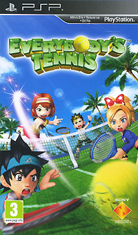 Everybody's Tennis (PSР) куплю игры на psp в павлодаре