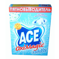 Пятновыводитель Ace Oxi Magic White, 500 г пятновыводитель ace oxi magic white 500 г