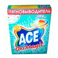 Пятновыводитель Ace Oxi Magic, 500 гAC-81498160Пятновыводитель Ace Oxi Magic предназначен для стиркив автоматических стиральных машинах и ручной стирки. Пятновыводительсодержит комплекс элементов, которые улучшают качество стирки и позволяют использовать небольшое количество порошка. Ace Oxi Magic  помогает безопасно удалять пятна и дольше сохранять яркость ткани благодаря системе живой цвет. Характеристики: Вес: 500 г. Изготовитель: Россия.Товар сертифицирован.