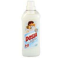 Концентрированный ополаскиватель для белья Dosia, для детской и чувствительной кожи, 1л7504177Ополаскиватель для белья Dosia придает мягкость вещам, облегчает глажение, помогает сохранить форму одежды, обладает антистатическим свойством. Подходит для всех типов тканей. Дерматологически протестировано.Рекомендуется для стирки детского белья, также подходит для использования людям с чувствительной кожей. Содержит натуральный экстракт ромашки.Добавьте кондиционер во время последнего полоскания белья. Легкий аромат ополаскивателя подарит вам ощущение уюта и нежности. Характеристики: Объем: 1 л. Товар сертифицирован.