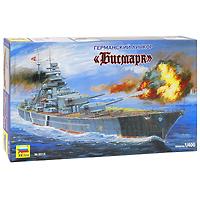 """Сборная модель """"Германский линкор """"Бисмарк"""" привлечет внимание не только ребенка, но и взрослого и позволит своими руками создать уменьшенную копию известного линкора. Линкор """"Бисмарк"""" - самый крупный военный корабль своего времени, краса и гордость германских военно-морских сил. В ночь с 18 на 19 мая """"Бисмарк"""" снялся с якоря и вышел из бухты г. Данцига совместно с крейсером """"Принц Евгений"""" и эсминцами сопровождения, для участия в крупной операции немецких ВМС. Англичане выдвинули соединение своих ВМС, чтобы не позволить немецкому линкору выйти в океан. После удачного боя с тяжелым английским крейсером """"Худ"""", в результате которого английский корабль был потоплен, немецкое командование приняло решение вернуть """"Бисмарк"""", т.к. за ним была организована настоящая охота. Линкор повернул в сторону берегов оккупированной Франции, но был настигнут силами ВМС Великобритании и к утру 26 мая 1941 г. атакован самолетами торпедоносцами """"Свордфиш"""". Рули управления линкора были сильно..."""