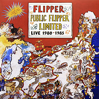 Flipper Flipper. Public Flipper Limited. Live 1980 - 1985 (LP) public enemy public enemy live from metropolis studios limited edition 2 cd 2 lp blu ray