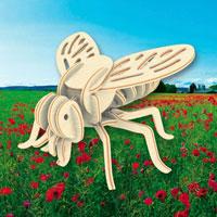 """Сборная деревянная модель """"Оса"""" позволит Вам и Вашему ребенку собрать объемную деревянную скульптуру в виде осы. Модель для сборки развивает мелкую моторику, ителлектуальные способности, воображение и конструктивное мышление, тренирует терпение и усидчивость."""