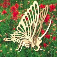 """Сборная деревянная модель """"Бабочка"""" позволит Вам и Вашему ребенку собрать объемную деревянную скульптуру в виде бабочки. Модель для сборки развивает мелкую моторику, ителлектуальные способности, воображение и конструктивное мышление, тренирует терпение и усидчивость."""