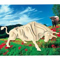 """Сборная деревянная модель """"Бык"""" позволит Вам и Вашему ребенку собрать объемную деревянную фигурку в виде быка. Модель для сборки развивает мелкую моторику, ителлектуальные способности, воображение и конструктивное мышление, тренирует терпение и усидчивость."""