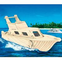 """Сборная деревянная модель """"Яхта"""" позволит Вам и Вашему ребенку собрать объемную деревянную конструкцию в виде яхты. Модель для сборки развивает мелкую моторику, ителлектуальные способности, воображение и конструктивное мышление, тренирует терпение и усидчивость."""