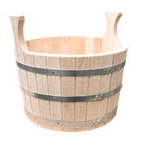 Шайка сборная двуручная(липа) 10лБ1001Шайка для бани и сауны, объемом 10 л, предназначена для хранения воды, приготовления настоев из трав и ароматических масел. Которые используются для создания определенного микро-климата в парилке, для образования пара в бане (сауне). Для этого воду из шайки при помощи специального черпака (ковша) поливают на камни банной печи.Шайка для бани и сауны изготовлена из отборной липы, с использованием обручей из нержавеющей стали - по традиционной бондарной технологии без применения лаков и клея. Характеристики:Производитель: Россия.Артикул: Б1051.