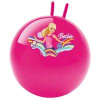 Мяч-попрыгун - отличный подарок для Вашего ребенка! Мяч оформлен красочным изображением Барби. Это и мячик-игрушка, и спортивный снаряд, который поможет в развитии физических навыков. Благодаря специальной ручке, ребенок может удобно сидеть на мяче и прыгать, отталкиваясь ногами от пола. Помогает развивать и укреплять мышцы спины, живота, ног, рук и формирует правильную осанку.