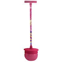 """Мяч-попрыгун """"Barbie"""", оснащенный подставкой для ног и удобной ручкой, станет любимой игрушкой Вашего ребенка. Ребенок встает ногами на подставку и обеими руками крепко обхватывает ручку, теперь можно прыгать, пока не надоест! Этот активный и веселый снаряд тренирует мышцы рук, ног, а также развивает координацию движений."""