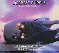 Deep Purple Deep Purple. Deepest Purple. 30th Anniversary Edition (CD + DVD) deep purple german explosion cd в интернет магазине