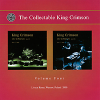 King Crimson The Collectable King Crimson. Volume 4 (2 CD) чемодан the king ed19915417 2014