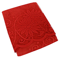 Гардина из тюля Mara, высота: 150 см, цвет: красный1239/LГардина Mara с ажурной аркойорганично впишетсяв интерьер любой комнаты. Яркая, жизнерадостная занавеска для кухни, окрашенная вручную. Сшита на универсальной присборивающей ленте. Великолепныйцветочный мотив удовлетворит даже самый изысканный вкус. Фирма Wisanна польском рынке существует уже более пятидесяти лет и является одной из лучших польских фабрик по производству штор и тканей. Ассортимент фирмы представлен готовыми комплектами штор для гостиной, детской, кухни, а также текстилем для кухни (скатерти, салфетки, дорожки, кухонные занавески). Модельный ряд отличает оригинальный дизайн, высокое качество.Ассортимент продукции постоянно пополняется. Характеристики:Размер: 300 см х 150 см.Материал: 100% полиэстер.Цвет: красный. Изготовитель: Польша.