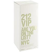 Carolina Herrera 212 VIP. Парфюмированная вода, 80 мл3349668508488Аромат 212 VIP нашел свое вдохновение у молодых и творческих людей Нью-Йорка, которые пишут будущую историю мегаполиса, истинных VIP персон.Яркие эпатажные люди, которые любят и умеют хорошо проводить время. Основная идея аромата «А вы есть в списке?» – фраза, пришедшая из мира VIP, но не имеющая ничего общего с деньгами или известностью. Быть в списке - значит обладать особой жизненной позицией и неординарными личностными характеристиками. 212 VIP веселый, праздничный, цветочный аромат, который сочетает в себе стиль и отношение к жизни, покоряя тремя своими основными гранями. Ноты пьянящего рома и экзотической маракуй воплощают с собой аккорд вечеринки. Взрывной коктейль, которым можно наслаждаться в любое время! Светский аккорд - отличительная черта нового поколения 212 VIP. Он передается нотами всепоглощающего мускуса и изысканной гардении. Аура исключительности. Наконец, стильный аккорд заключен в ингредиентах, придающих аромату обворожительный шарм: восхитительная ультра-женственная ваниль и чувственные бобы Тонка, создают неповторимое изысканное очарование. Верхняя нота: Горький апельсин, маракуйя.Средняя нота: Гардения, ром.Шлейф: Бензоин, ваниль.Ром и Маракуйя - вот правильный рецепт крутой вечеринки.