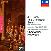 Кристофер Хогвуд,The Academy Of Ancient Music,Кристоф Руссет,Лиза Безносюк Christopher Hogwood. Bach. The Orchestral Suites (2 CD) the elite academy