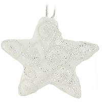 Набор подвесных украшений Звезды, цвет: белый, 4 штNLED-454-9W-BKНабор подвесных пластиковых украшений украсит новогоднюю елку и создаст теплую и уютную атмосферу праздника. Украшения упакованы в коробку, перевязанную белой лентой. Новогодние украшения всегда несут в себе волшебство и красоту. Почувствуйте волшебные минуты ожидания праздника, создайте новогоднее настроение вашим дорогим и близким! Характеристики:Материал:пластик. Размер украшения: 11,5 см х 10,5 см х 3 см.Комплектация:4 шт. Размер упаковки: 12 см х 33,5 см х 4,5 см. Изготовитель: Китай. Артикул: 0197-1100.