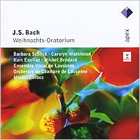 Барбара Шлик,Кэролин Уоткинсон,Курт Экуилуз,Мишель Бродерт,Ensemble Vocal De Lausanne,Orchestra De Chambre De Lausanne J. S. Bach. Weihnachts-Oratorium, BWV 248 (2 CD) штатив slik u 8800