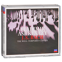 Владимир Ашкенази Vladimir Ashkenazy. J. S. Bach: The Well - Tempered Clavier (3 CD) the prelude implicit lp cd