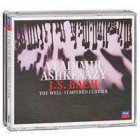 Владимир Ашкенази Vladimir Ashkenazy. J. S. Bach: The Well - Tempered Clavier (3 CD) тонометры b well тонометр автоматический b well wa 55 m